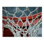Red del baloncesto postales