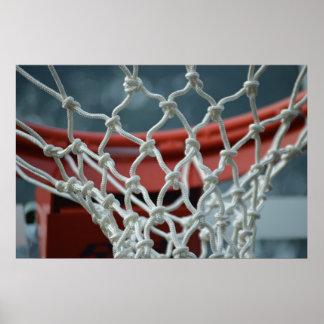 Red del baloncesto poster