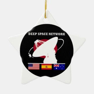 Red del espacio profundo de la NASA Ornamentos Para Reyes Magos