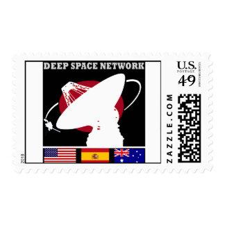 Red del espacio profundo de la NASA Franqueo