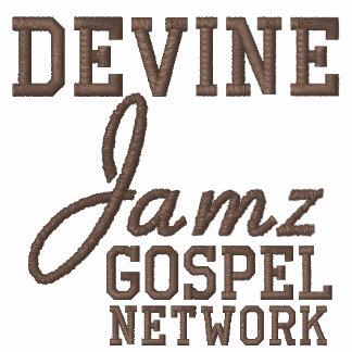 Red del evangelio de Devine Jamz Camiseta Polo Bordada