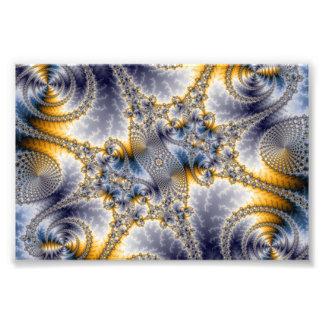 Red del puente - arte del fractal de Mandelbrot Cojinete