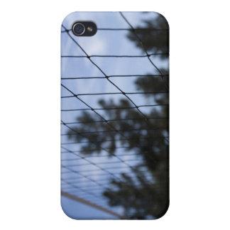 Red del voleibol iPhone 4 carcasa