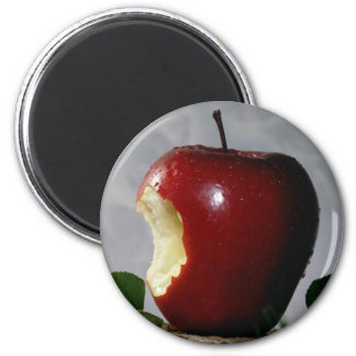 Red Delicious 2 Inch Round Magnet