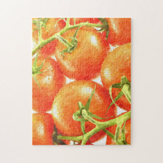 Red, delicious and juicy tomatoes jigsaw puzzle