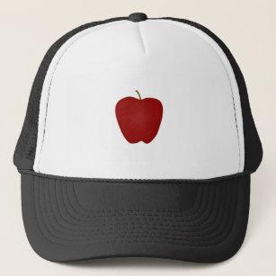 Red Delicious Apple Logo Trucker Hat 5b684bf238c