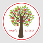 Red Delicious Apple Tree Kitchen Stickers