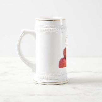 Red Delicious Apples Pyramid Beer Stein