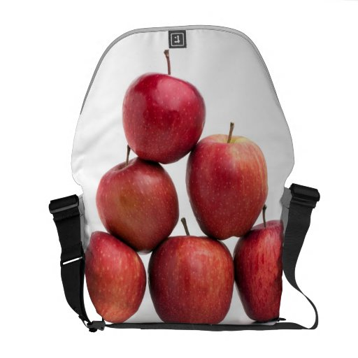 Red Delicious Apples Pyramid Courier Bags