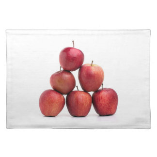 Red Delicious Apples Pyramid Placemat