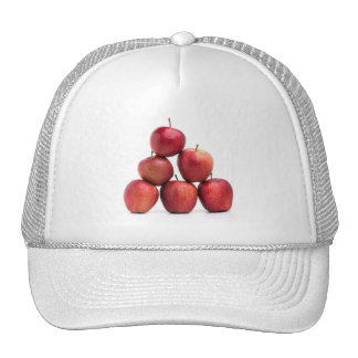 Red Delicious Apples Pyramid Trucker Hat