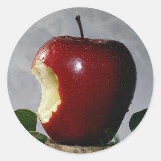 Red Delicious Classic Round Sticker