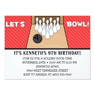 """Red delicious rodemos fiesta de cumpleaños de los invitación 6.5"""" x 8.75"""""""