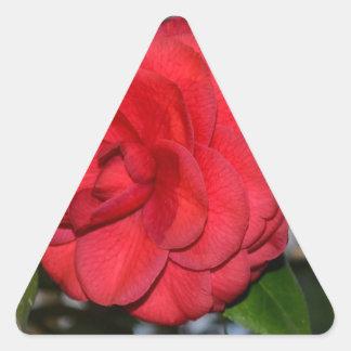 Red Delight Triangle Sticker