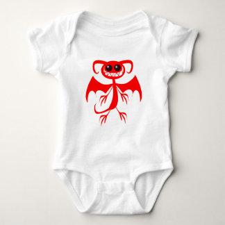 RED DEMON BABY BODYSUIT