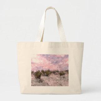 Red Desert Tote Bags
