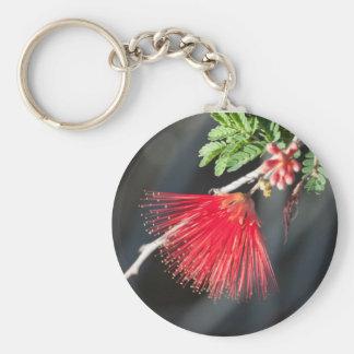 Red Desert Wild Flower KeyChain