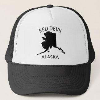 Red Devil Alaska Trucker Hat