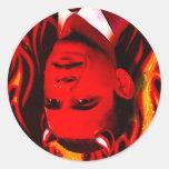 Red Devil - Barack Obama Stickers
