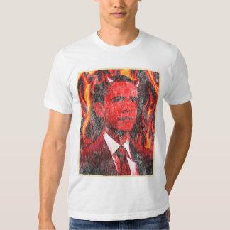 Red Devil Barack Obama T Shirt
