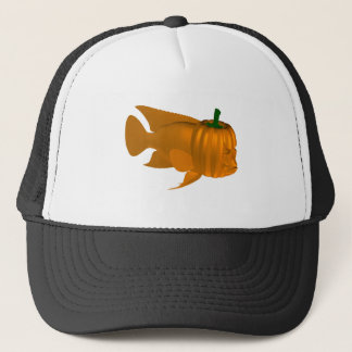 Red Devil Cichlid Trucker Hat