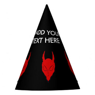 RED DEVIL/DEMON PARTY HATS