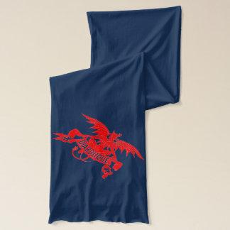 Red Devil Diabolique Winter Muffler Mens Gift Idea Scarf