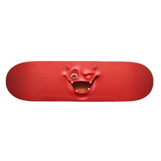 Red Devil face Skateboard Deck