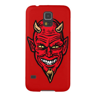 Red Devil Galaxy phone cover