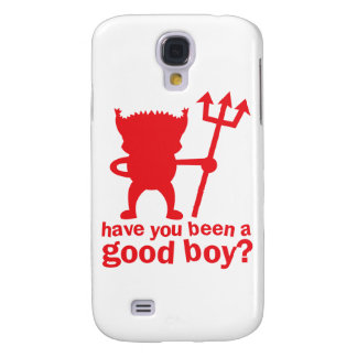 RED DEVIL have you been a good boy? Samsung S4 Case