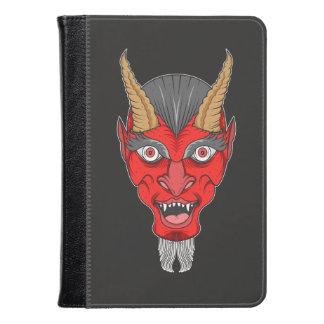 Red Devil Illustration Kindle Case