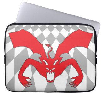 Red Devil Laptop Computer Sleeves