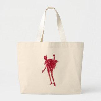 Red Devil Large Tote Bag
