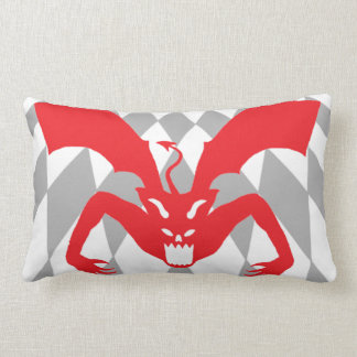 Red Devil Lumbar Pillow