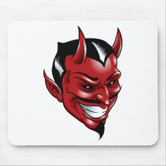 Red Devil Mouse Pad