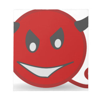 Red Devil Note Pad