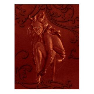 Red Devil post card