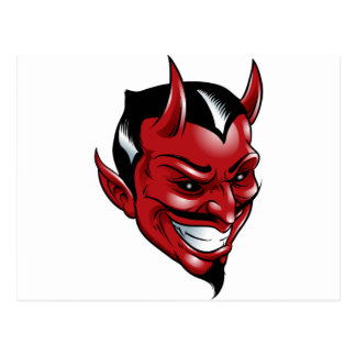 Red Devil Postcard