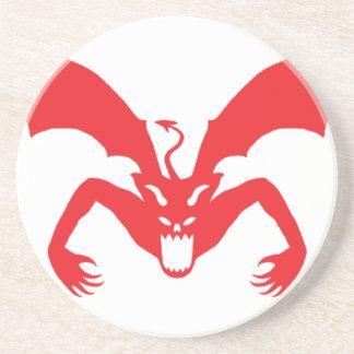 Red Devil Sandstone Coaster
