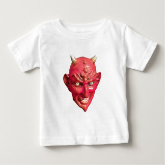 Red Devil Satan Demon Hell Horns Baby T-Shirt