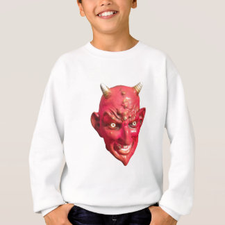 Red Devil Satan Demon Hell Horns Sweatshirt