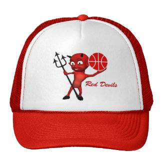 Red Devils Basketball Cap Trucker Hat