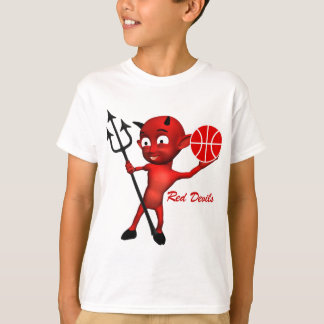 Red Devils Basketball T-Shirt