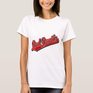 Red Devils in Red and White T-Shirt