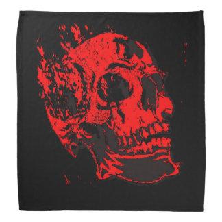 Red Devil's Skull Creepy Artwork Bandana