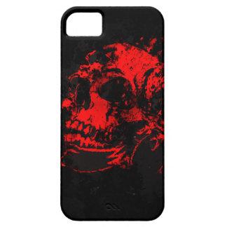 Red Devil's Skull Creepy Artwork iPhone SE/5/5s Case