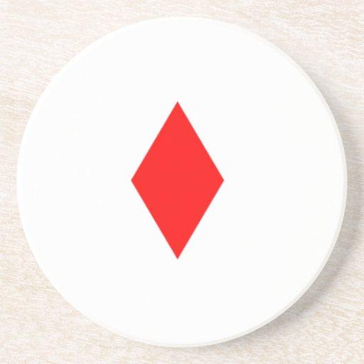 Red Diamond Coasters
