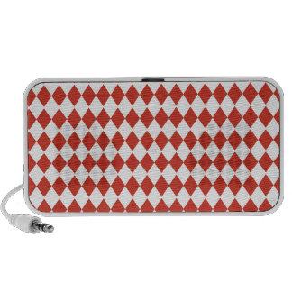 Red diamond Doodle by OrigAudio Portable Speaker
