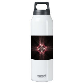 Red Diamond Light Fractal Art SIGG Thermo 0.5L Insulated Bottle