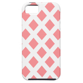 Red Diamond Pattern iPhone 5/5S Covers